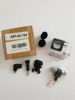 Go Pro 3 Housing + Two Headed Microphone Clear case included
