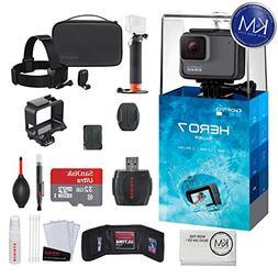 GoPro HERO 5 Black 7 items + 64 GB Micro SD + Case + Accesso