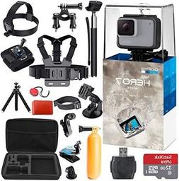 GoPro Hero 7  Action Camera + 38 Piece Accessory Kit