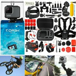 GoPro HERO 7 Silver 4K Action Camera + 58-In-1 Accessory Kit