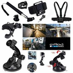 GoPro Hero 2 3 4 5 Action Camera Accessories Set Kit Pole He