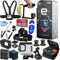 GoPro HERO9 Waterproof 5K Camcorder + EXT BATT + 64GB + Unde