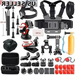 GoPro Accessories Kit for GoPro HERO session/5/4/3+/3/2/1 Ca