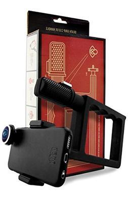 Death Lens Death Grip 2.0 VX Handle Universal Phone Black