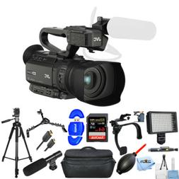 JVC GY-HM200SP 4KCAM Compact Handheld Streaming Camcorder