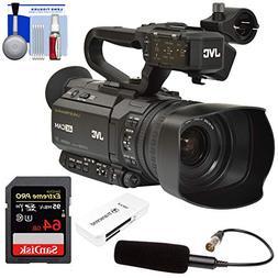 JVC GY-HM250U Ultra 4K HD 4KCAM Professional Camcorder & Top