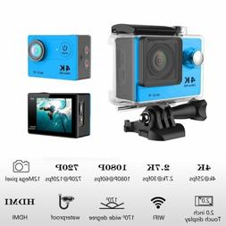 H9 Ultra 4K Full HD 1080P Waterproof Sport Camera WiFi Actio