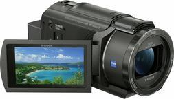Sony - Handycam AX43 4K Camcorder - Black