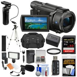 Sony Handycam FDR-AX53 Wi-Fi 4K HD Video Camera Camcorder &