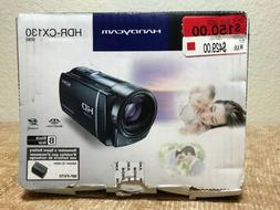 handycam hdr cx130 hd camcorder open box