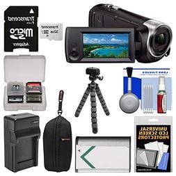Bundle Handycam HDR-CX440 8GB Wi-Fi 1080p HD Video Camera Ca