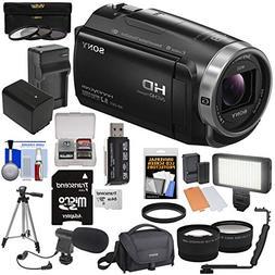 Sony Handycam HDR-CX675 32GB Wi-Fi HD Video Camera Camcorder