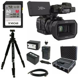Panasonic HC X1000 4K 60p 50p Camcorder with High Powered 20