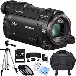 Panasonic HC-WXF991K 4K Ultra HD Camcorder Black Essential A