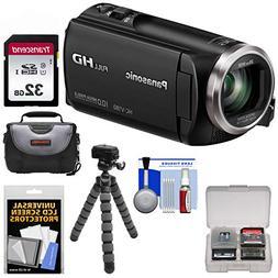 Panasonic HC-V180 HD Video Camera Camcorder with 32GB Card +