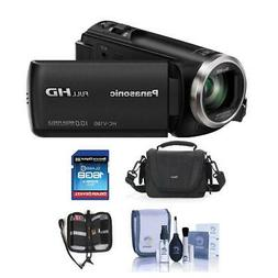 Panasonic HC-V180K Full HD Camcorder With Free Accessory Bun