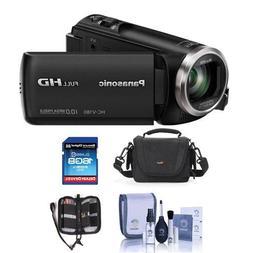 Panasonic HC-V180K Full HD Camcorder With Free Accessory Bun