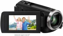 Panasonic HC-V180K FHD Camcorder 50X Optical Zoom Black New!