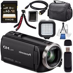 Panasonic HC-V180K Full HD Camcorder  HC-V180K + Sony 64GB S