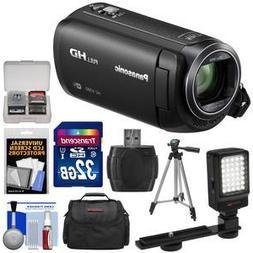 Panasonic HC-V380 Wi-Fi HD Video Camera Camcorder with 32GB