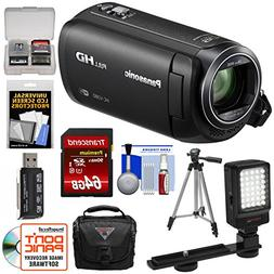 Panasonic HC-V380 Wi-Fi HD Video Camera Camcorder with 64GB