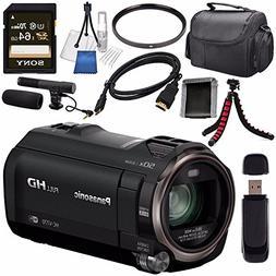 Panasonic HC-V770 HC-V770K Full HD Camcorder + Sony 64GB SDX
