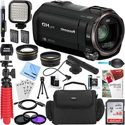 Panasonic HC-V770K HD Camcorder with Mini Zoom Microphone +