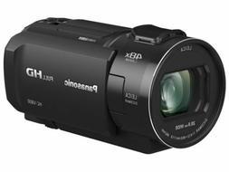 Panasonic Hc-V800 HD Camcorder, 24x Leica Dicomar Lens, 1/2.