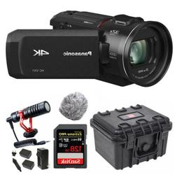 Panasonic HC-VX1 4K Camcorder with 24X Leica Lens with Video