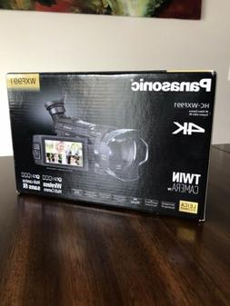 Panasonic HC WXF991 4K Ultra HD Camcorder with Twin Camera W