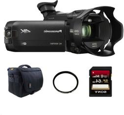 Panasonic HC WXF991K 4K Ultra HD Camcorder with Twin Camera