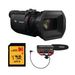Panasonic HC-X1500 4K Pro Camcorder  with 128GB Card and Koa