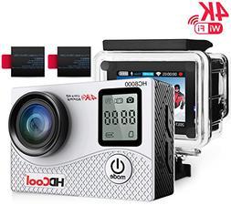 HDCool HC8000 Action Sports Camera 16MP Resolution WiFi Unde