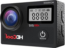 HDCool Action Camera 170° Wide-Angle Lens 4K 20MP Waterproo