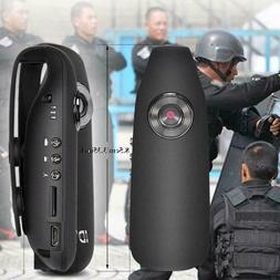 HD 1080P 130° Mini Camcorder Dash Cam Police Body Motorcycl