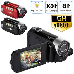 HD  2.7'' LCD Camcorder 16MP 16X Zoom Digital Video Camera C