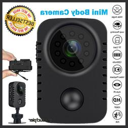 HD 1080P Mini Body Camera PIR Motion Pocket Cam Recorder DV