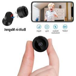 Mini Spy Camera HD 1080P Wifi Hidden Security Cam with Magne