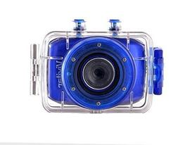 Vivitar HD CAMCORDER CAMERA ACTION WATERPROOF DVR 781HD - BL
