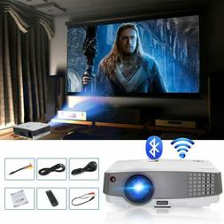 EUG HD Portable Android Smart Projector 3600lm Bluetooth Wif