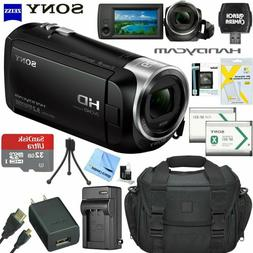 HD Video Recording Sony Handycam Camcorder HDRCX405  Bundle