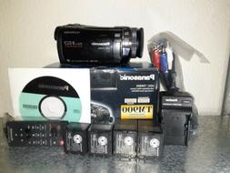 Panasonic HDC-TM900 Full HD Camcorder With Accessories