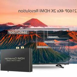 HDMI Audio Extractor Splitter to SPDIF Optical RCA