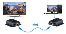 1080P HDMI Network Extender Over Single Cable with IR CAT5E/