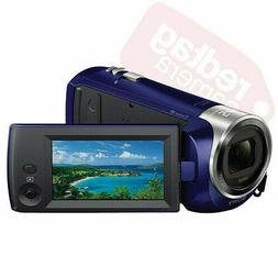 Sony HDR-CX240 Full HD Handycam Camcorder Blue with 54x Clea