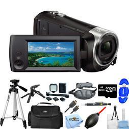 Sony HDR-CX405 HD Handycam Camcorder MEGA BUNDLE BRAND NEW
