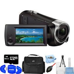 Sony HDR-CX405 HD Handycam Camcorder STARTER BUNDLE BRAND NE