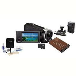 Sony HDR-CX440 60p Full HD Camcorder with Basic Accessory Bu