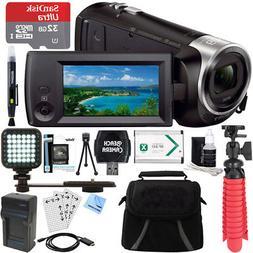 Sony HDR-CX440 Full HD 60p Camcorder + 32GB MicroSDHC Access