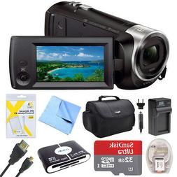 Sony HDR-CX440 Full HD 60p Camcorder w/ 32GB - Deluxe Bundle